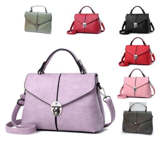 9cfc113342611 7 Damentasche Schultertasche Handtasche Tote In Frauen Blitzversan Tasche  Farben UzpSMV