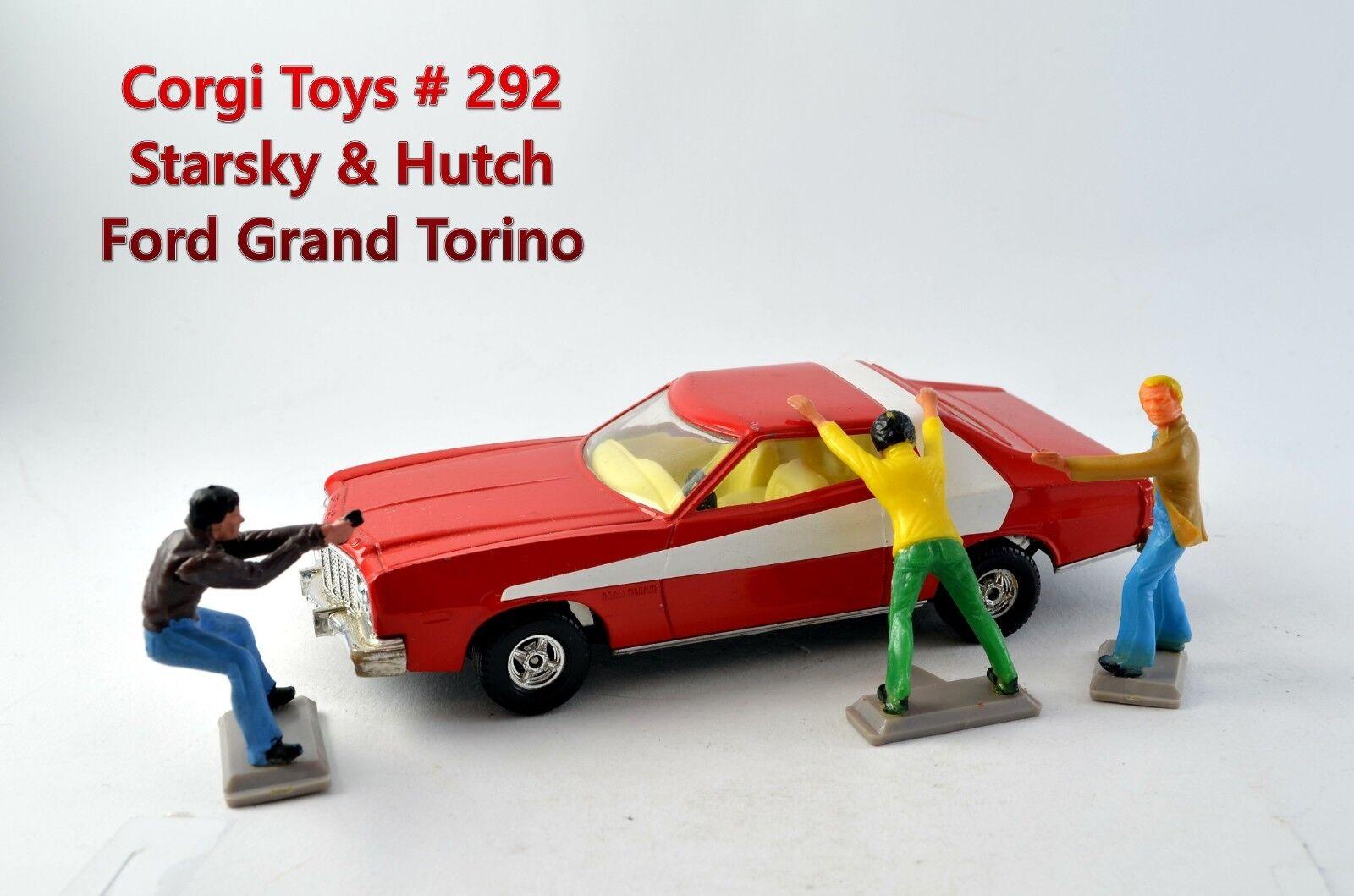 Corgi Toys;   292; Starsky & Hutch Ford Grand Torino inkl. Figures
