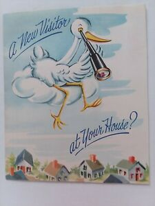 1950s-Vtg-POP-UP-STORK-New-Visitor-at-Your-House-CONGRATS-New-BABY-GREETING-CARD