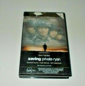 Saving-Private-Ryan-VHS-PAL-Video-Big-Box-Ex-Rental-Tom-Hanks-Spielberg