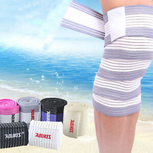 Knee-Brace-Pain-Relief-Straps-Support-Wraps-Gym-Squat-Lifting-Compression-Sleeve