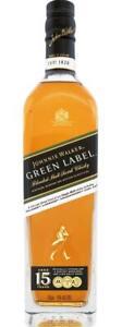 Johnnie Walker Green Label 15 Year Old 700mL Bottle