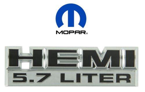 For Dodge Ram 5.7L Hemi Emblem Badge Decal Nameplate OEM Mopar 55078115AA