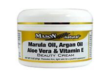 Jar 2 Oz Marula Argan Oil Aloe Vera Vitamin E Beauty Cream Skin Eye Face Care