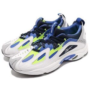 c28a04ec4bab Reebok DMX Series 1200 White Lime Blue Men Running Daddy Shoes ...