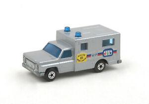 Matchbox-Superfast-MB-41e-French-Issue-Paris-Dakar-Silver-Ambulance