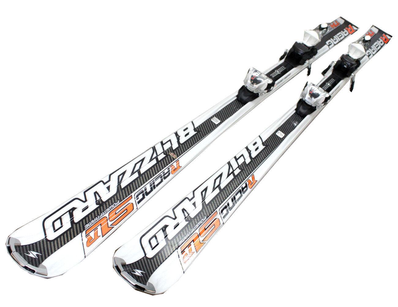 Ski Set Blizzard SLR Magnesium Slalom Test  Racecarver 68 1 2in + Binding Marker  sale online discount