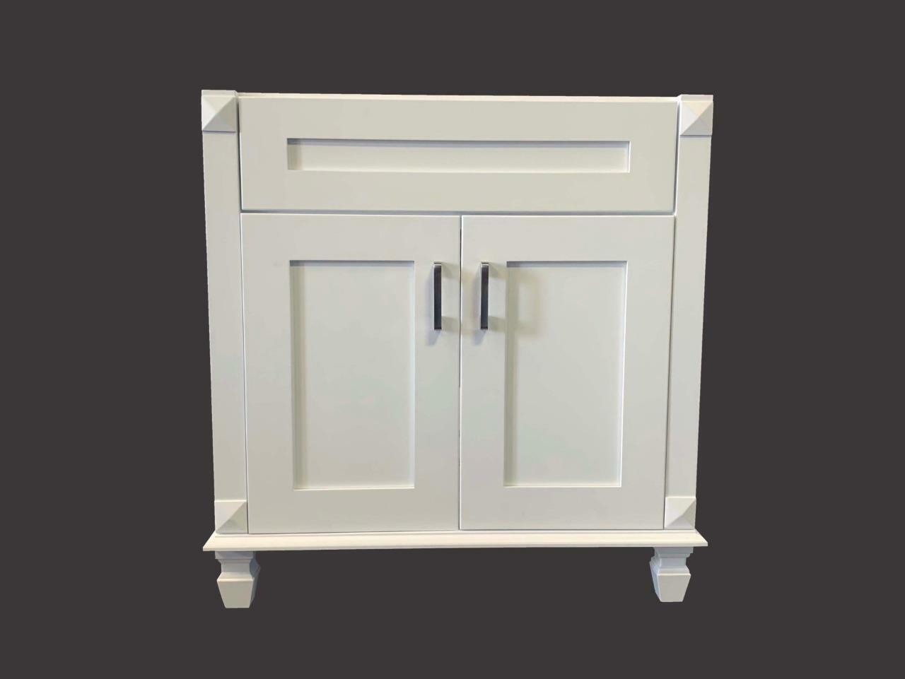Robern Vd30bcl21 30 Inch W Single Drawer Deep Vanity In White For Sale Online Ebay