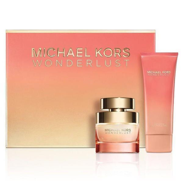 9a23e3f478ed Michael Kors Wonderlust 50ml Eau De Parfum Perfume and 100ml Body Lotion  Gift Set for sale online