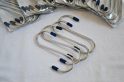 16 Fleischerhaken S-Haken Fleischhaken Stahlhaken sehr groß 14,5 cm