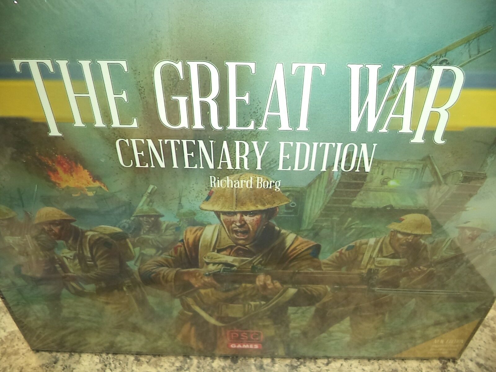 The Great War Centenary Edition - PSC Games War Board Game New