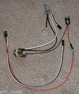 Solderless EZ-INSTALL Wiring KIT for ACTIVE EMG Pickup 1V no Tone no Switch  NEW   eBayeBay