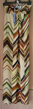 BNWT NewYorkLaundry Brown Cream Green Aztec Print Stretch Maxi Dress size Medium