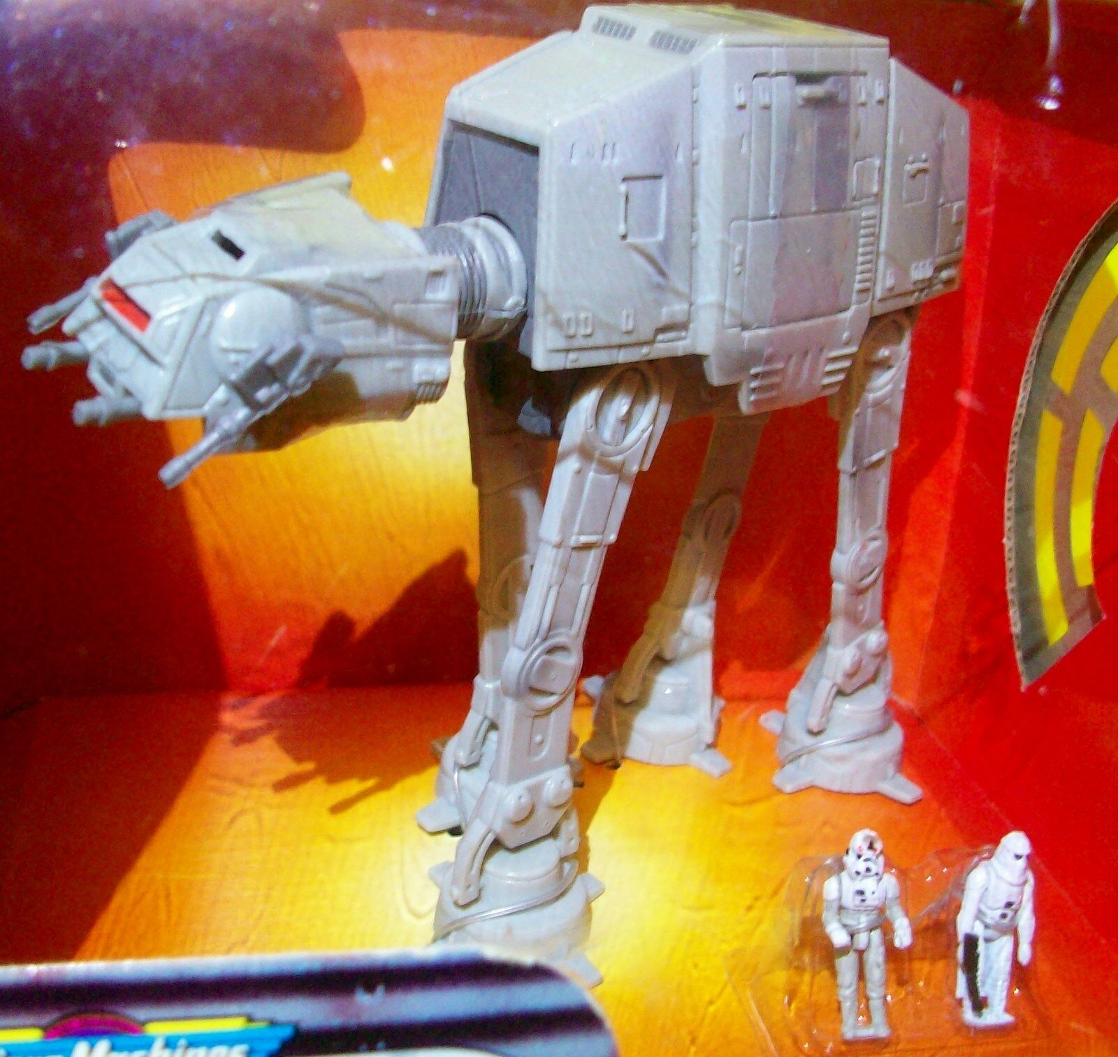 STAR WARS Return Return Return of the Jedi Mini AT-AT Walker w IMPERIAL SNOWTROOPER & DRIVER 9a7687