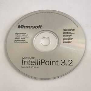 Microsoft IntelliPoint 3.2 Mouse Software for PC   CDROM   VGC