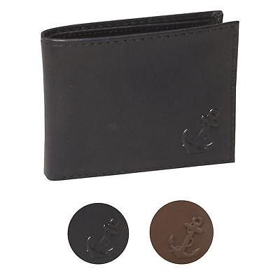 Nautica Men/'s Bifold Genuine Leather Credit Card ID Passcase Wallet 31NU22X026