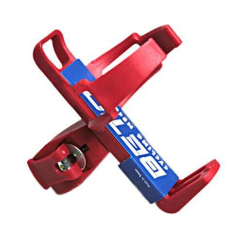 Bicycle Bottle Holder Cycling Riding Mountain Bike Quick Release Water Cage Red