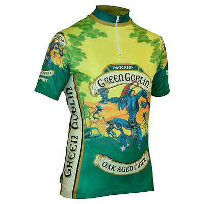 Impsport Green Goblin Brand Cider Cycling Jersey Mens & Ladies Sizes - RRP £48