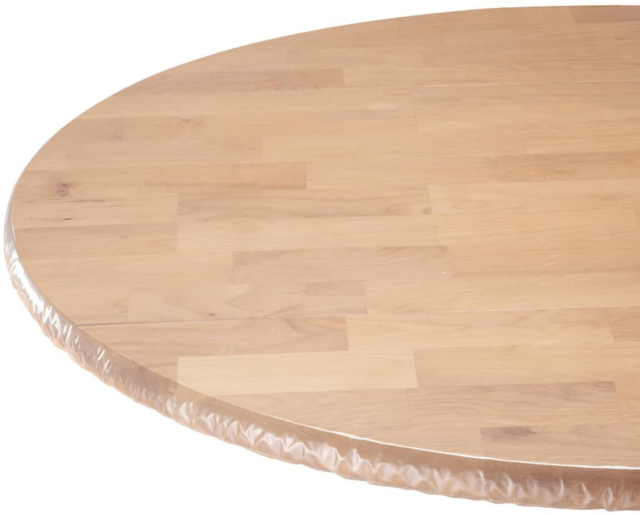 56 Inches Round Table Cover Elastic, Round Table Cover With Elastic