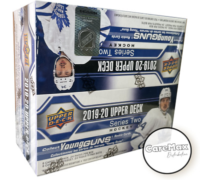 2019-20 Upper Deck Series 2 Hockey Retail Box
