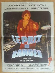 Le prix du danger Gerard Lanvin movie poster print