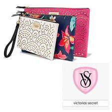 "NEW! ""Victoria's Secret""  Beauty Pouch Trio Set of 3 bags 2017SS"