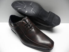 Chaussures ZY marron pour HOMME taille 41 garcon costume de mariage NEUF #3611