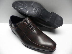 Chaussures-ZY-marron-pour-HOMME-taille-44-costume-brown-shoes-man-NEUF-3611