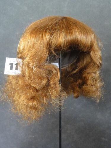 blond foncé PERRUQUE de POUPEE T11 31.5cm 50% PROMO cheveux Bouclée