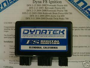 Dynatek Dyna CDI ECU Ignition Rev Box Arctic Cat 650 H1 TRV Mudpro All Models
