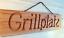 Indexbild 1 - Grillplatz - Holzschild Dekoschild mit gefräster Gravur - Douglasie massiv - NEU