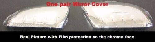 For Ford EXPLORER 2011 2012 2013 2014 2015 Chrome Top Half Mirror Covers PAIR