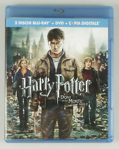 PRL-2-BLU-RAY-DISC-HARRY-POTTER-E-I-DONI-DELLA-MORTE-PARTE-2-DVD-FILM-MOVIE