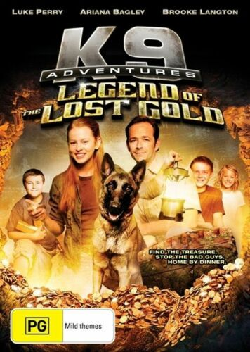 1 of 1 - K9 Adventures - Legend Of The Lost Gold (Region 4 Brand New DVD, 2015)