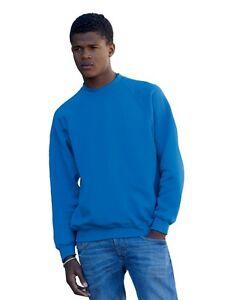 FRUIT-OF-THE-LOOM-Raglan-Sweatshirt-13-farben-men-herren-NEU