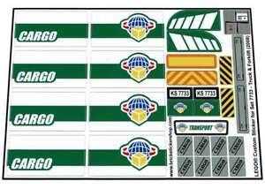 Lego-Custom-Pre-Cut-Sticker-for-City-Cargo-set-7733-Truck-amp-Forklift-2008