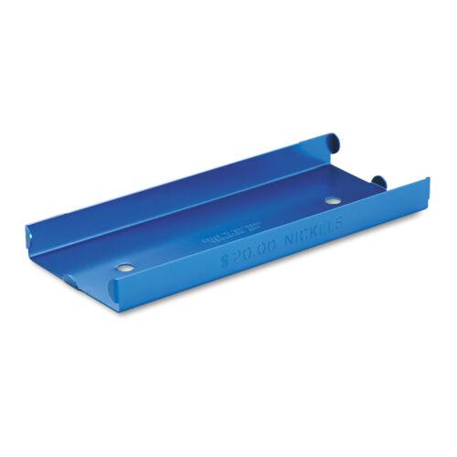 Each MMF Industries™ Aluminum Nickel Coin Tray Blue