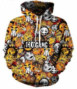 7f4a994529347 New Fashion Women/Men Cartoon Glo Gang 3D Print Pullover Hoodie ...