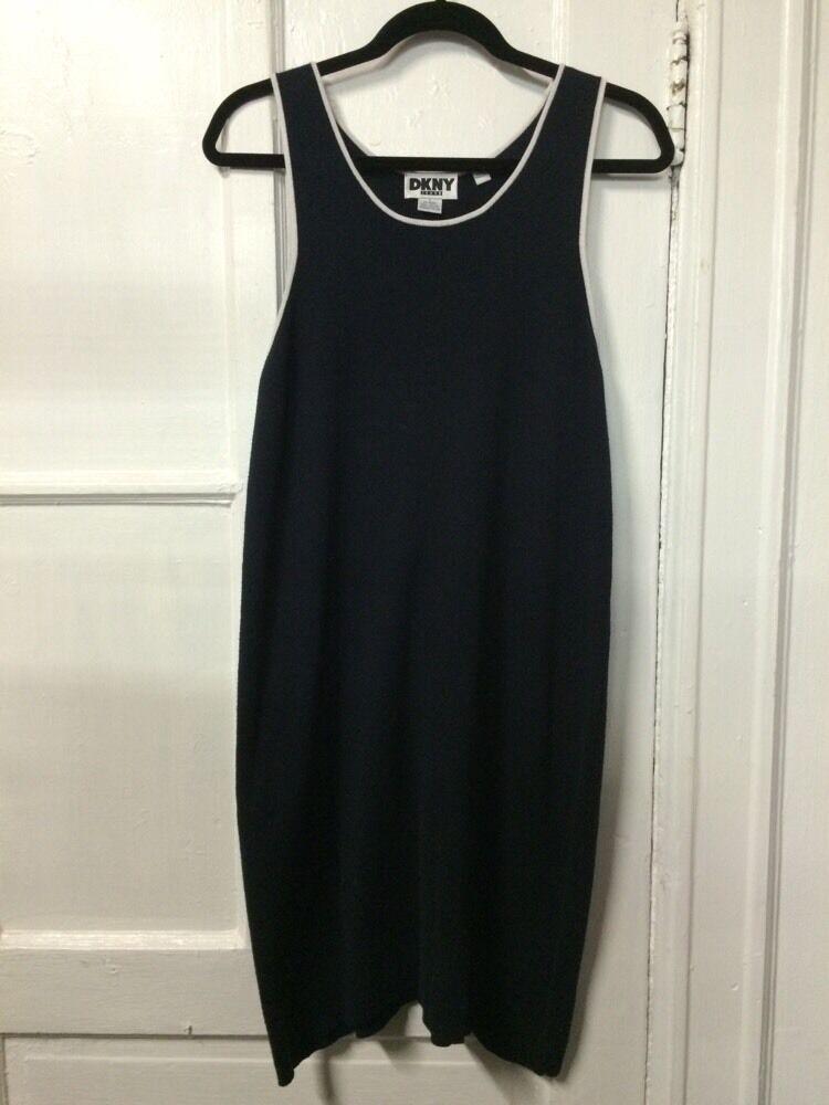 DKNY Jeans Dress - Navy bluee   Size L
