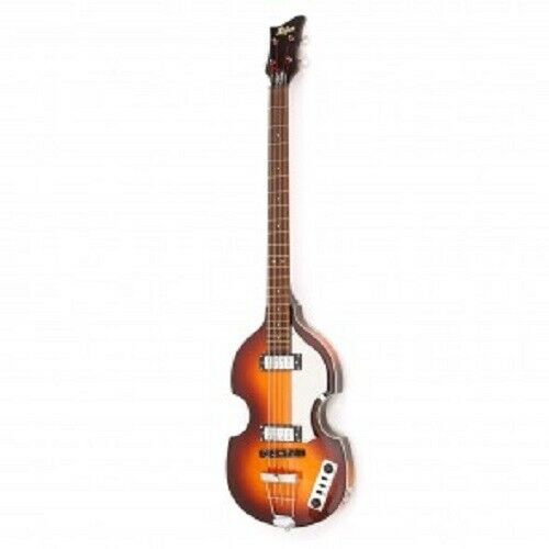 Hofner Ignition Series HI BB Violin Beatle Bass Sunburst W Free Strings