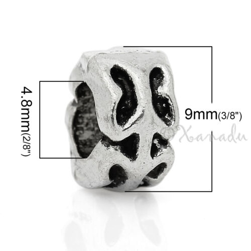 20 Or 50PCs Butterfly Wholesale European Large Hole Spacer Beads C0611-10