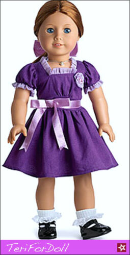 Julie American Girl Emily/'s Holiday Dress RETIRED Mia McKenna Kit New