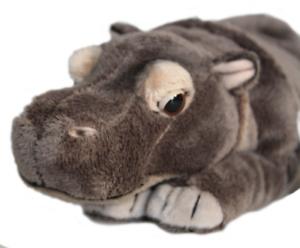 """Plüschtier Plüsch Kuscheltier Stofftier Flusspferd Steppe Zoo Hippo """"Nilpferd"""""""