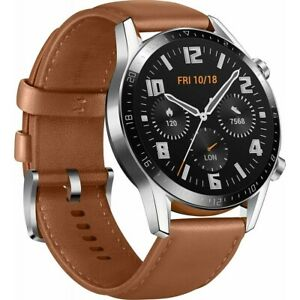 HUAWEI Watch GT 2 Classic 46mm braun Bluetooth Smartwatch Android und iOS