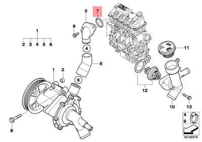 3 x BMW Mini Genuine Intake Boot Hose Clamp Cooper S Coop.S JCW GP Cooper S