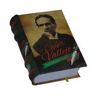 César Vallejo, Los Mejores Versos Libro Miniatura De Fácil Lectura Pasta Dura