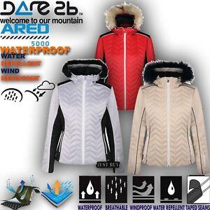 Dare2b Nieve Ski Entrelazar Senderismo Mujer Chaqueta Impermeable zwq0rzS