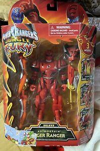 Power rangers Jungle Fury Tiger Ranger Bnib