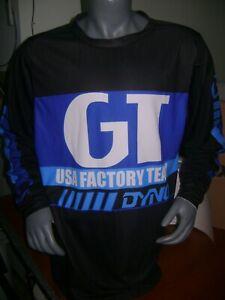 GT OLD SCHOOL BIKE JERSEY CLASSIC BMX JERSEY RACE BIKE SHIRT BMX VINTAGE L bla