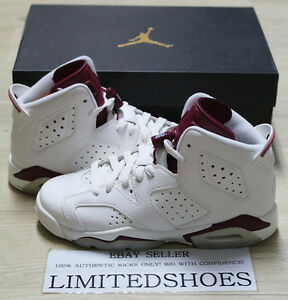 big sale e5952 700fa Image is loading NIKE-AIR-JORDAN-Vi-6-RETRO-BG-GS-